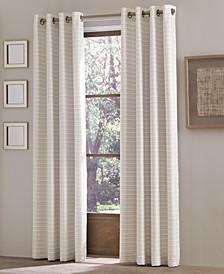 Essex Checker Stripe Grommet Curtain Panels