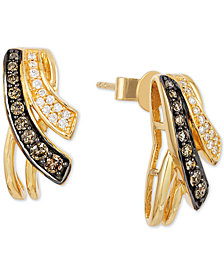 Le Vian Chocolatier® Diamond Drop Earrings (1/3 ct. t.w.) in 14k Gold