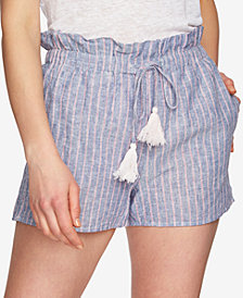 1.STATE Striped Paperbag Shorts