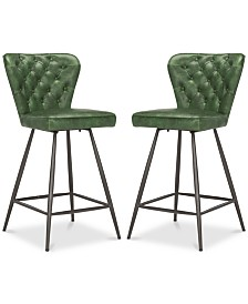 Reska Counter Stool (Set Of 2), Quick Ship
