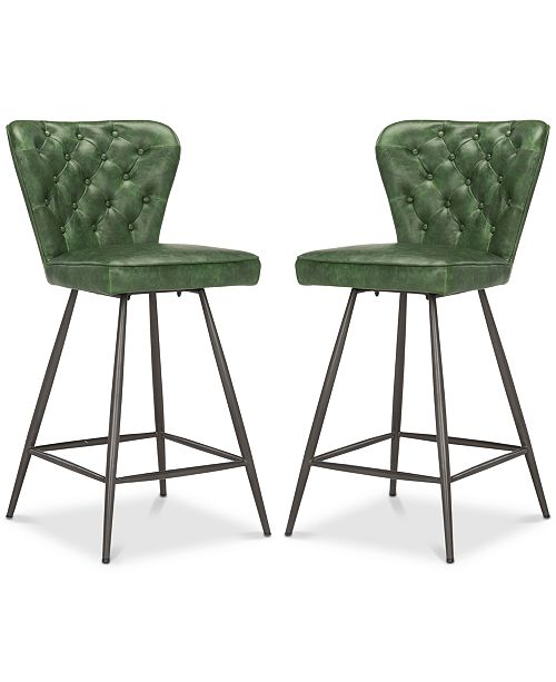 Safavieh Reska Counter Stool (Set Of 2)