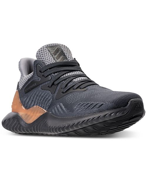 online store 9f583 bf1df ... adidas Big Boys AlphaBounce Beyond Running Sneakers from Finish ...