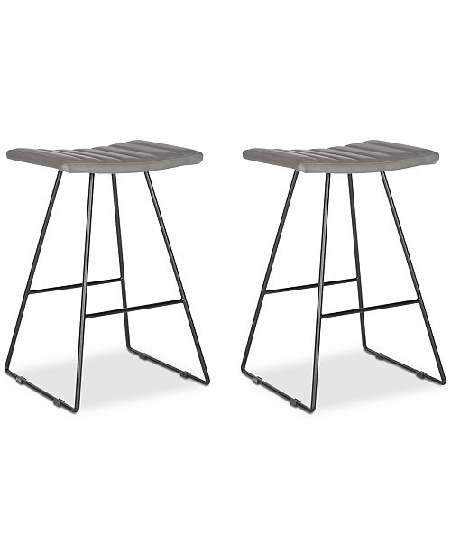 Safavieh Nicklin Counter Stool (Set Of 2)