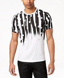 I.N.C. Men's Sequined Flag T-Shirt, Created for Macy's