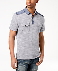 I.N.C. Men's Colorblocked Polo, Created for Macy's