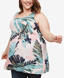 Motherhood Maternity Plus Size Printed Top
