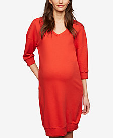 A Pea In The Pod Maternity V-Neck Dress