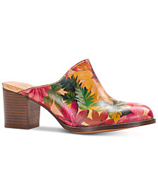 Patricia Nash Nicia Slip-On Mules