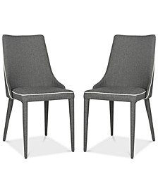 Channing Gray Side Chair (Set Of 2)