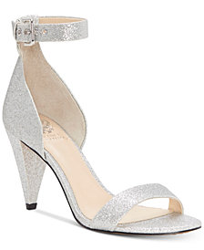Vince Camuto Cashane Cone-Heel Dress Sandals