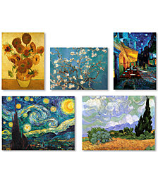 Vincent van Gogh 5-Pc. Wall Art Collection