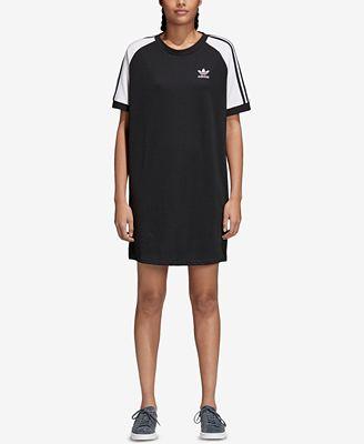 Adidas Adicolor T - Shirt Vestito Abiti Donne Macy's