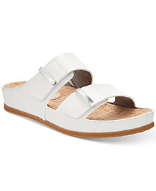 Bare Traps Cherilyn Memory Foam Slide Flat Sandals