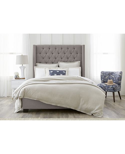 Macys Furniture Nyc: Furniture Monroe Upholstered Bedroom Furniture Collection