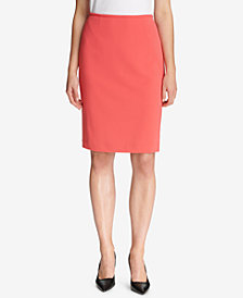 Calvin Klein Scuba Pencil Skirt