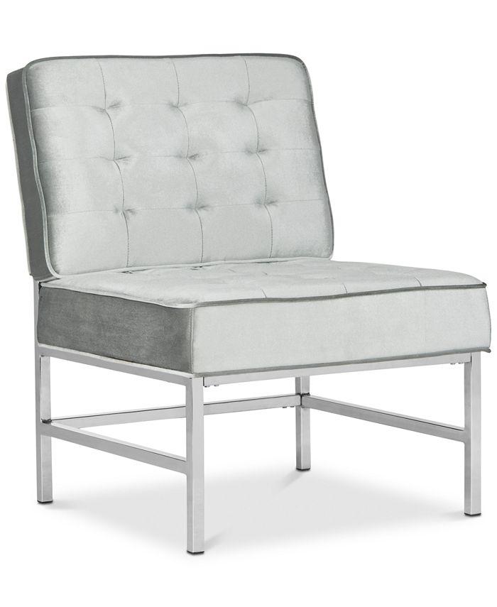 Safavieh - Kader Accent Chair, Quick Ship