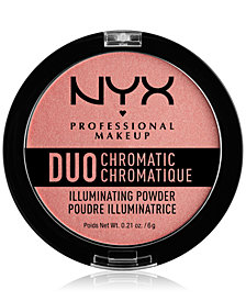 NYX Professional Makeup Duo Chromatic Illuminating Powder