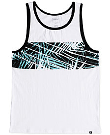 Quiksilver Men's Slash Palm-Print Tank