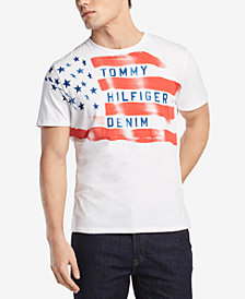 Tommy Hilfiger Denim Men's Flag Graphic-Print T-Shirt