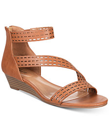 Style & Co Giordi Wedge Sandals, Created for Macy's