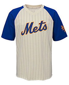 Outerstuff New York Mets Game Tradition T-Shirt, Big Boys (8-20)