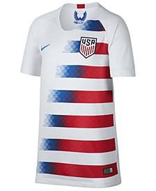 Nike USA National Team Home Stadium Jersey, Big Boys (8-20)