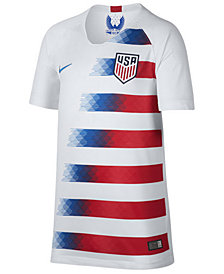 adidas USA National Team Home Stadium Jersey, Big Boys (8-20)