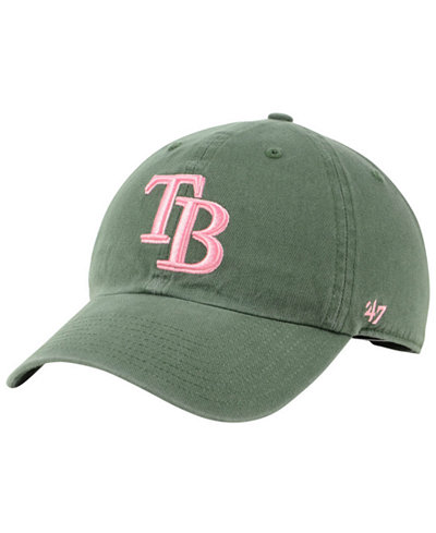 '47 Brand Tampa Bay Rays Moss Pink CLEAN UP Cap