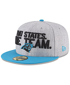 New Era Boys' Carolina Panthers Draft 59FIFTY FITTED Cap
