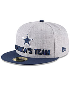 New Era Boys' Dallas Cowboys Draft 59FIFTY FITTED Cap