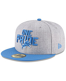 New Era Boys' Detroit Lions Draft 59FIFTY FITTED Cap