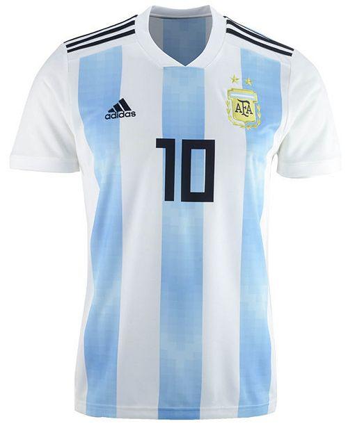 1cbf579d2 adidas Men s Lionel Messi Argentina National Team Home Stadium Jersey ...