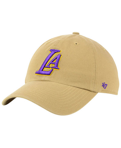 '47 Brand Los Angeles Lakers Mash Up CLEAN UP Cap