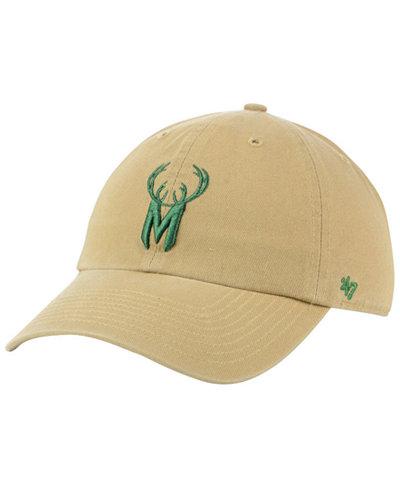 '47 Brand Milwaukee Bucks Mash Up CLEAN UP Cap