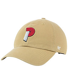 '47 Brand Portland Trail Blazers Mash Up CLEAN UP Cap