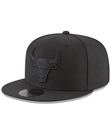 Chicago Bulls Blackout 59FIFTY Fitted Cap