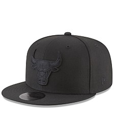 New Era Chicago Bulls Blackout 59FIFTY Fitted Cap