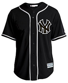 Majestic Men's New York Yankees Pitch Black Jersey