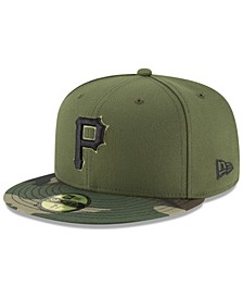 Pittsburgh Pirates Authentic Collection 59FIFTY Fitted Cap