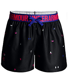 Under Armour Play Up Shorts, Big Girls