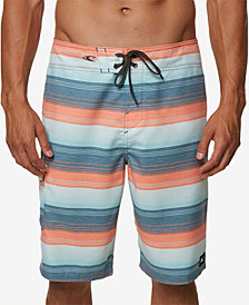 "O'Neill Men's Santa Cruz Stripe 21"" Board Shorts"