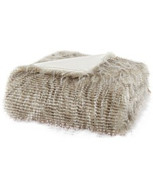 "Edina 50"" x 60"" Faux-Fur Throw"