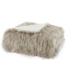 "Madison Park Edina 50"" x 60"" Faux-Fur Throw"