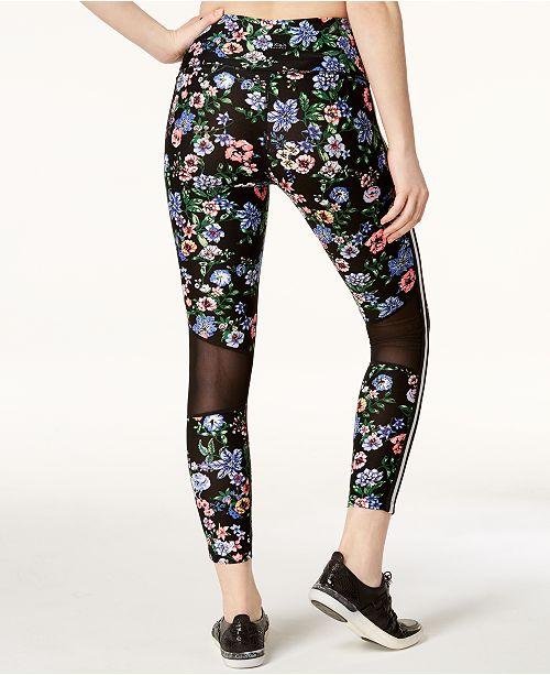 5e98e0d47a1e7 Calvin Klein Botanica Printed Ankle Leggings   Reviews - Pants ...