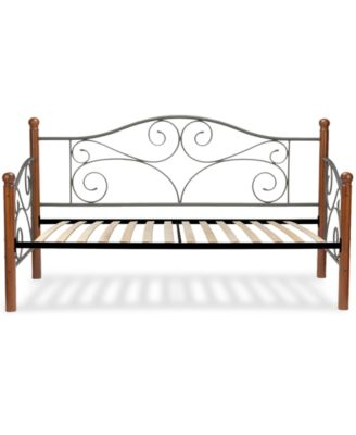 Doral-Twin Spindle Euro Daybed, Quick Ship