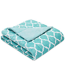 "Madison Park Ogee 60"" x 70"" Oversized Down-Alternative Throw"