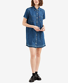 Levi's® Denim Shirtdress