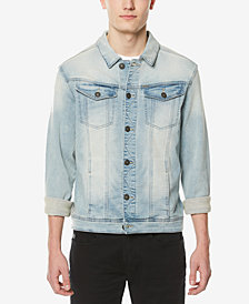 Buffalo David Bitton Men's Faded Denim Jacket