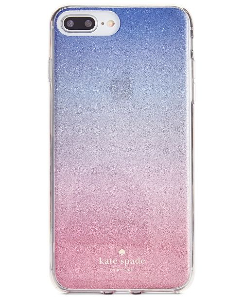 hot sale online b4bb7 e2217 kate spade new york Sunset Glitter Ombre iPhone 8 Plus Case ...