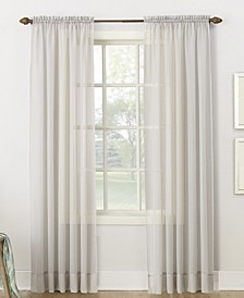 Sheer Voile Rod Pocket Top Curtain Collection